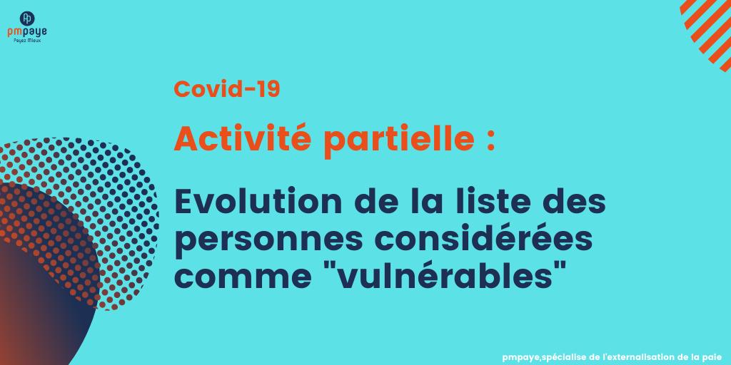 activité partielle et personnes vulnérables